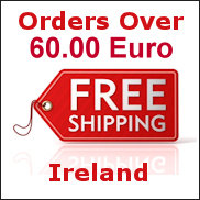 Free Delivery Ireland Orders over 49 Euro