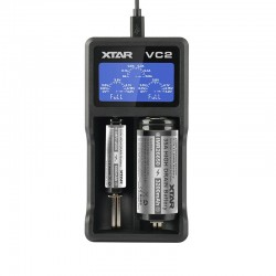 Xtar VC2 Dual Bay Lithium-ion Battery Charger